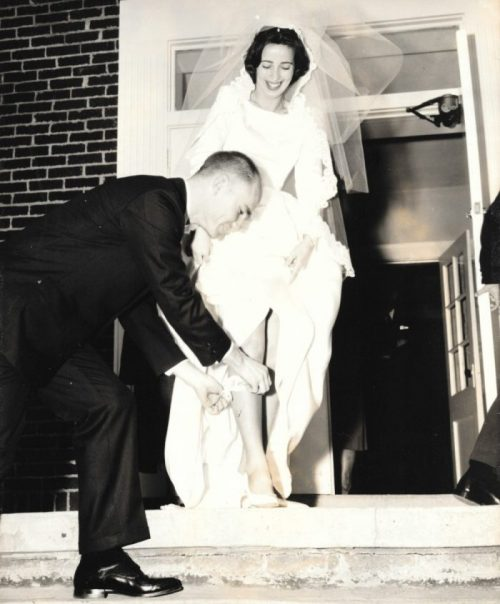 Bob married Mary Jo on December 23, 1963. Now just as committed to each other as they were that blessed day.