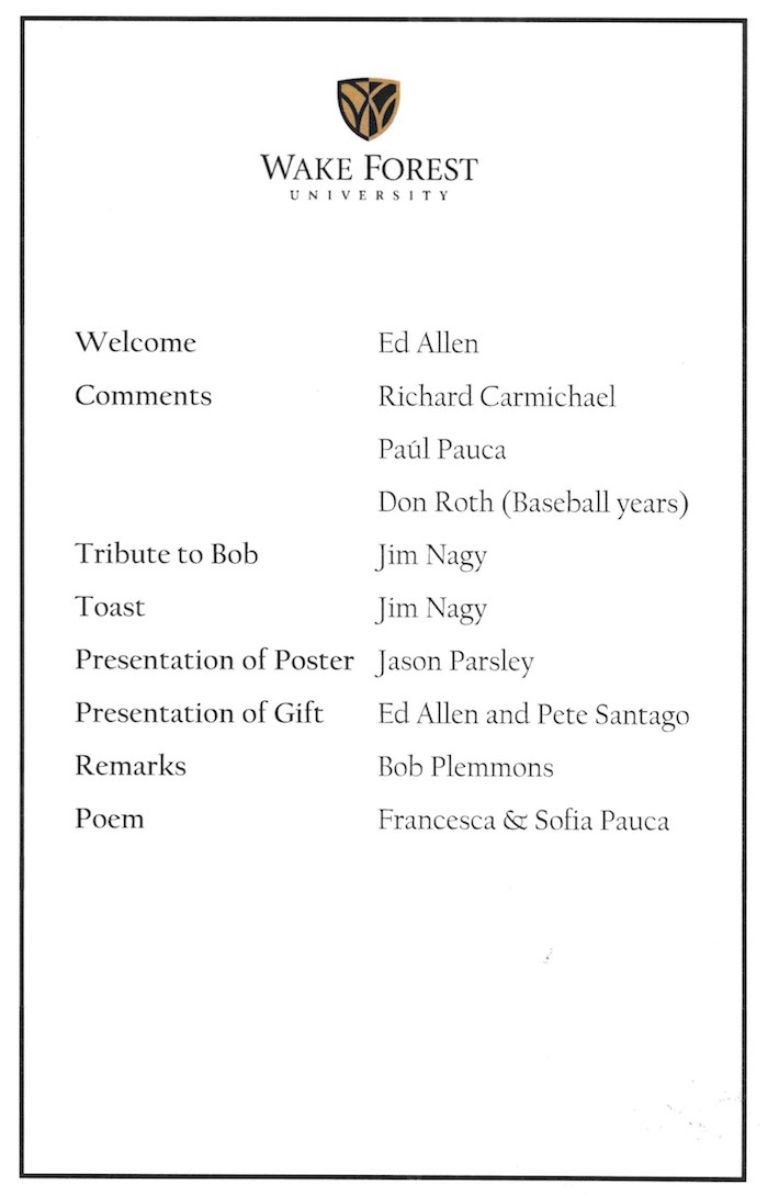 program for party