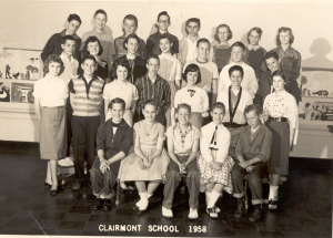 7th Grade Class at Clairemont School
